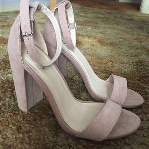 Qupid 6.5 pink heels